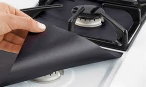 gas stove top. Interesting Stove Gas StoveTop Protector Liner 4 Or 8Pack  With Stove Top