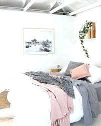 Blush And Gray Bedding Pink Grey And White Bedroom Best Gray Pink ...