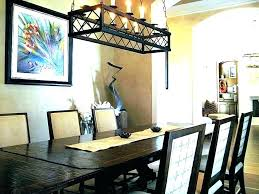 what size chandelier for dining room