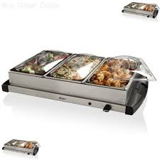 oster stainless steel electric buffet server food warmer chafing dishes new