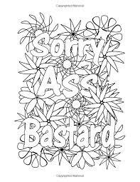 Swear Word Coloring Pages Printable Jokingartcom