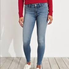 Hollister Bottoms Size Chart Women Size Chart For Hollister Jeans On Poshmark