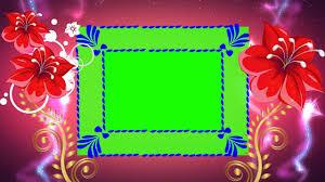 beautiful flower frame background for wedding mixing full hd dmx hd bg 180