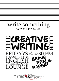 How To Write Flyers Creative Writing Flyer Creative Writing Club Docs Flyers Editable