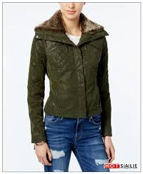 reliable 2018 olive hv58 coats jou jou faux leather er jacket juniors