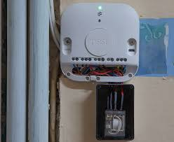nest learning thermostat 3rd gen hot water installation on the heat link installed relay below