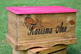 wood toy box laser engraved kids toy box toy box for canada
