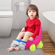 Details About Toddlers Potty Training Toilet Chair Splash Guard Detachable Seat Boys Girls