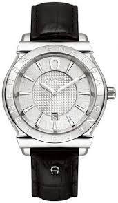 aigner bolzano men s white dial leather band watch a24116 price this item is currently out of stock