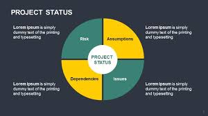 Project Status Slide Project Status
