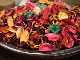Aromatic Potpourri With Dried Flowers