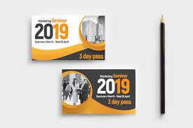 Seminar Design Template Marketing Seminar Business Card Template Psd Ai