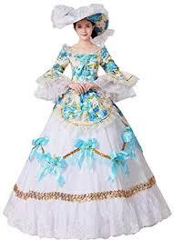Captivating Amazon.com: FENIKUSU Womenu0027s Gothic Victorian Fancy Dress Prom Palace  Masquerade Ball Gown Costume: Clothing