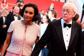 young michael caine wife. Exellent Michael British Actor Michael Caine R And His Wife Shakira Leave The Festival  Palace After Inside Young Wife E