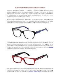 Inexpensive Designer Eyeglasses
