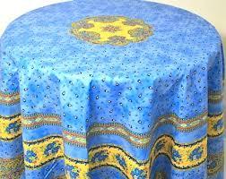 cotton provence round tablecloth 70 diameter