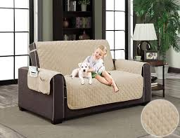 natural beige pet couch micro suede slipcover dog cat protector cover 88 x70 love seat com