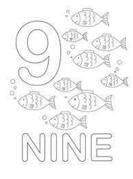 Small Picture Number 9 Coloring Page GetColoringPagescom