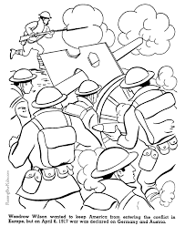Small Picture US Enters War American history coloring page for kid 086