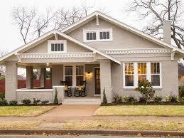 Painted brick exterior Brick Ranch 20 Homes With Breathtaking Painted Brick Hgtvcom 20 Homes With Breathtaking Painted Brick Hgtv