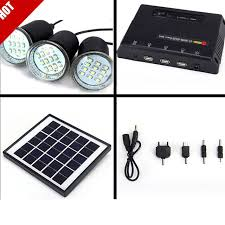 Solar LED Light Kit  EBaySolar Powered Led Lights For Homes