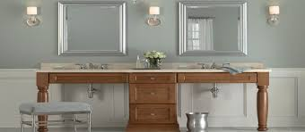 cherry bathroom vanity cabinet from mid continent cabinetry