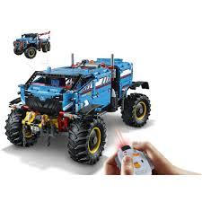 Lego Technic 6x6 Remote Control All Terrain Tow Truck 42070 Toys