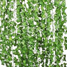 fake ivy leaves set of 12 artificial