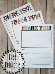 I was seriously not planning on posting anymore in 2015! Printable Thank You Note Three Little Ferns Family Lifestyle Blog