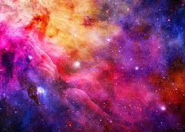 colorful galaxy space. Brilliant Space Wall Mural  Colourful Galaxy Throughout Colorful Space L