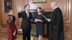 Brett Kavanaugh Sworn In As Supreme Court's Newest Justice : NPR