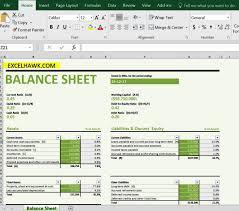 Microsoft Excel Balance Sheet Templates Download Balance Sheet With Formulas In Excel Template