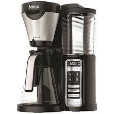 ninja coffee bar coffee maker with glass carafe