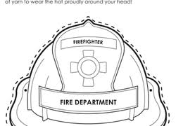 Small Picture Firefighter Coloring Pages Printables Educationcom
