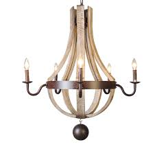 wine barrel lighting. french country wood metal wine barrel chandelier pendant 5 lights rh 30 lighting e