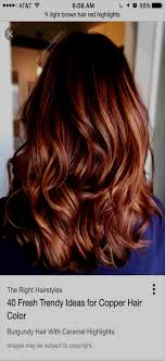 Hairstyles With Red Highlights 91945 Beautiful Medium Length