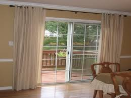 curtain patio door
