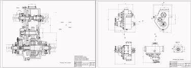 Курсовые и дипломные работы автомобили расчет устройство  Чертежи Раздаточная коробка КАМАЗ 4350
