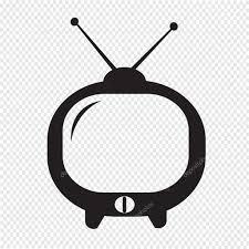 かわいいテレビ アイコン ストックベクター Porjai 71591873