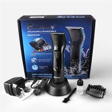 shinon alat cukur trik hair trimmer shaver sh 2251 black 6