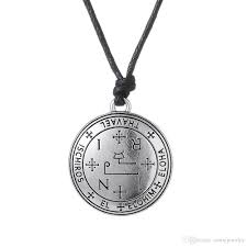 whole sigil of 7 archangel michael raphael uriel thavael gabriel sigil of archangel angel talisman angel men pendant male necklace women chain ro