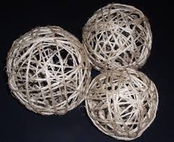 Decorative Twine Balls Make your own Decorative Twine Balls for Wedding or Home Decor 2