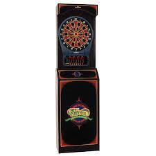 Dart Board Cabinet With Chalkboard Arachnid Arachnid Free Standing 650 Electronic Dartboard Reviews