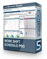 excel rotating schedule work shift schedule timetable template for excel