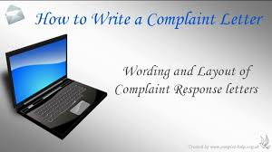 How To Write A Complaint Letter Youtube