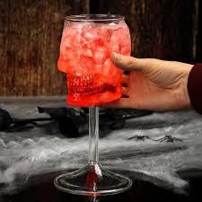 skull wine glass 15 75oz 450ml