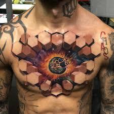как выглядят 3d тату от которых у вас закружится голова