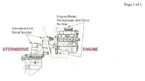 my nephew gave me a boat in lieu of a debt it is a 1987 88 mirage Mercruiser Parts Diagram Mercruiser Sterndrive Wiring Diagram #39