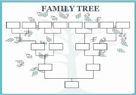 How To Make A Family Tree Chart On Microsoft Word Microsoft Family Tree Template Fresh Make A Family Tree Template