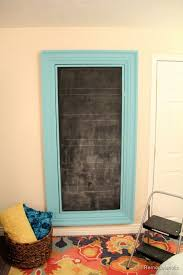 mirror paint for wallsRemodelaholic  Build a Large Wall Frame for a Chalkboard or Mirror
